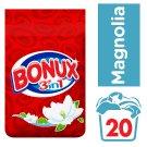 Bonux Washing Powder Magnolia Ideal For Whites 1.5KG  20 Washes