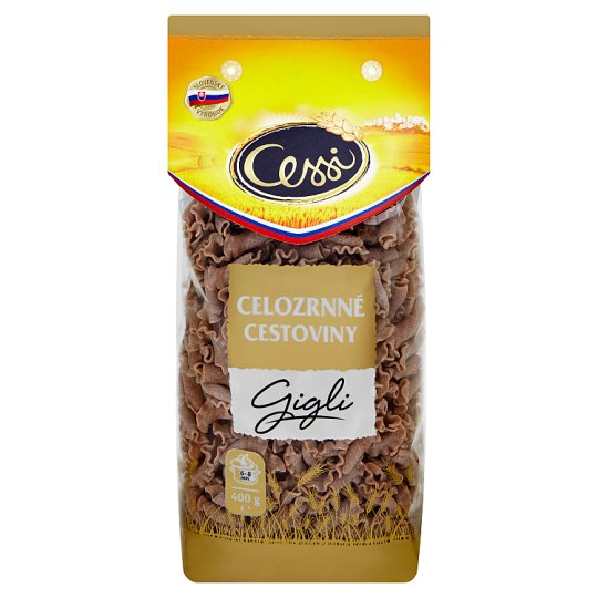Cessi Wholemeal Pasta Gigli 400 g