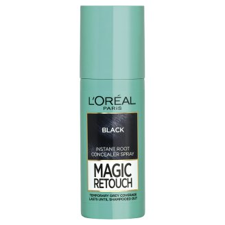 L'Oréal Paris Magic Retouch Black sprej na okamžité zakrytie odrastov 75 ml