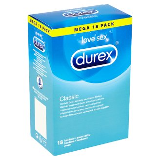 Durex Classic prezervatívy 18 ks