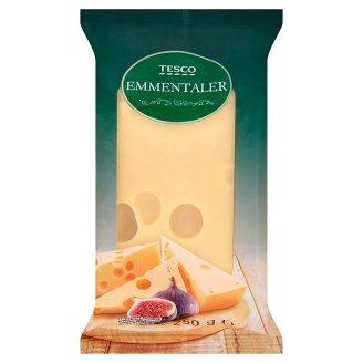 Tesco Emmentaler Semi-Hard Semi-Fat Ripened Cheese 250 g