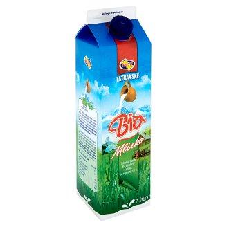 Tami Tatranské horské bio plnotučné mlieko 1 l