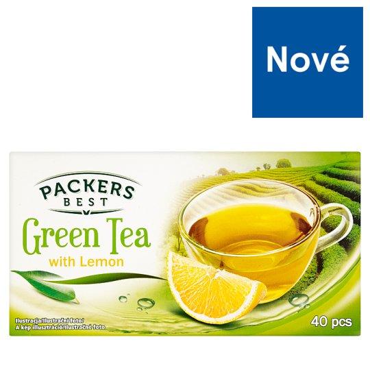 Packers Best Green Tea with Lemon 40 x 1.75 g