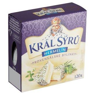 Král Sýrů Camembert Provencal Herbs 120 g