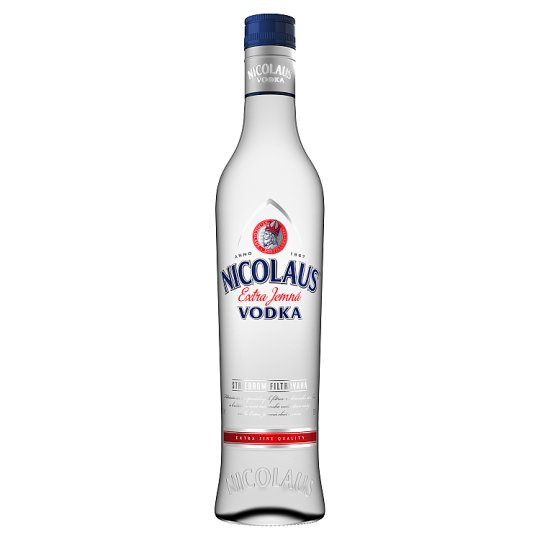 Nicolaus Extra jemná vodka 38% 500 ml