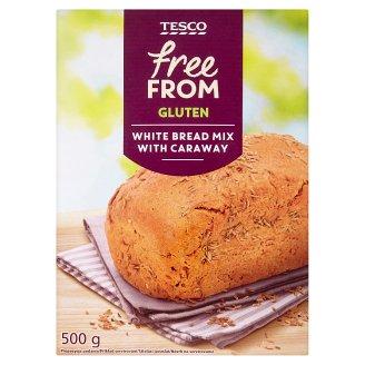 Tesco Free From Zmes na prípravu svetlého bezgluténového chleba s rascou 500 g
