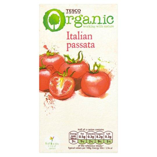 Tesco Organic Bio Italian Passata 500 g