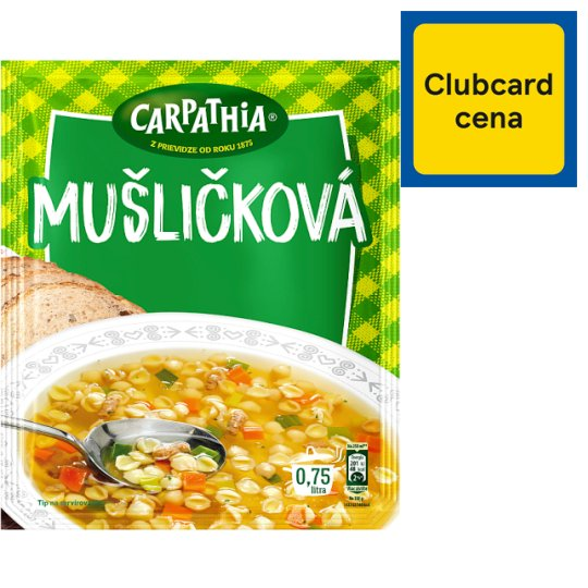 CARPATHIA Shells Soup Pocket 42 g