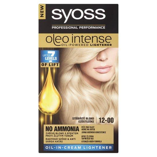 Syoss Oleo Intense zosvetľovač Strieborný Blond 12-00