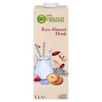Tesco Bio Rice Drink with Almonds 1 L