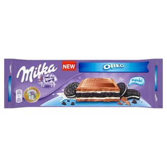Milka Oreo Cocoa Biscuit in Alpine Milk Chocolate 300 g
