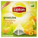 Lipton Mandarin Orange zelený čaj 20 vrecúšok