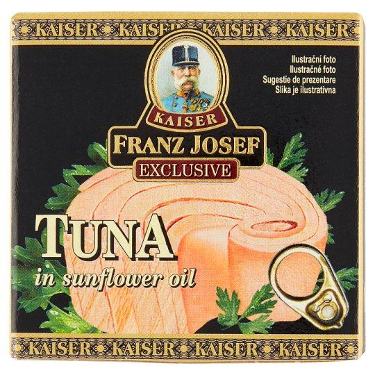 Kaiser Franz Josef Exclusive Tuniak steak v slnečnicovom oleji 80 g