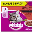 Whiskas Meat Selection in Juice Complete Food for Adult Cats 24 x 100 g