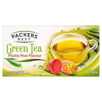 Packers Best Zelený čaj s príchuťou opuncie porciovaný 40 x 1,75 g