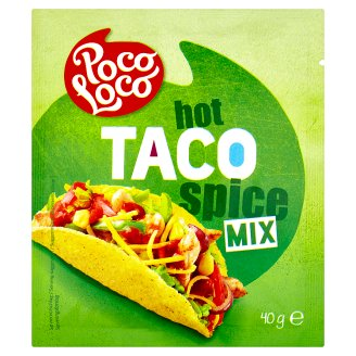 Poco Loco Taco Hot Spice Mix 40 g