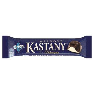 ORION LEDOVÉ KAŠTANY Tyčinka s príchuťou marcipánu v horkej čokoláde 45 g