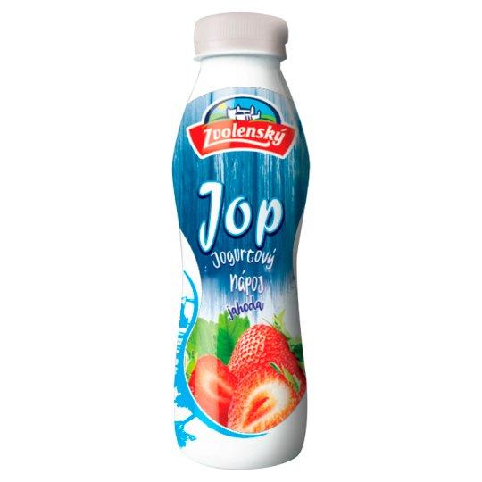 Zvolenský Jop Jogurtový nápoj jahoda 300 g