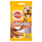 Pedigree Schmackos Multi 4 príchute doplnkové krmivo pre dospelých psov 104 g
