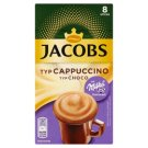 Jacobs Cappuccino Choco Milka Flavoured Soluble Coffee Blend 8 x 18 g