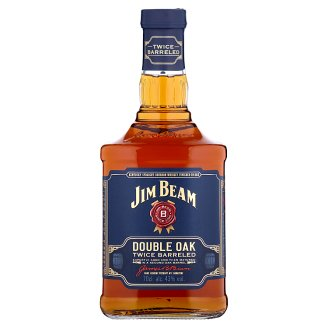 Jim Beam Double Oak Kentucky Straight Bourbon Whiskey 43 % 0.7 L