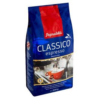 Popradská Classico Espresso Coffee Beans 500 g