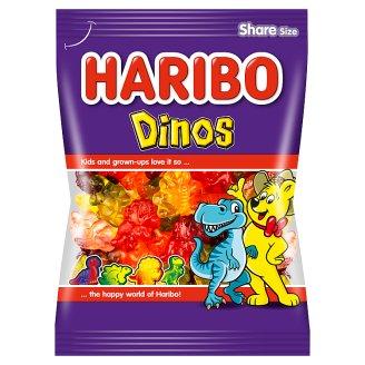 Haribo Dinosaurier mäkké želé cukrovinky s ovocnými príchuťami 200 g