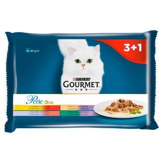 GOURMET Perle DUO Multipack 4 x 85 g
