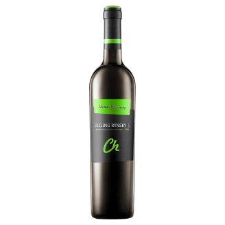 Château Topoľčianky Rizling rýnsky slovenské akostné odrodové víno CH.O.P biele suché 0,75 l