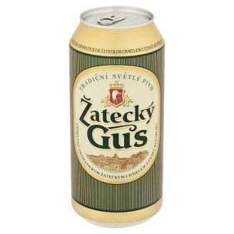 Žatecký Gus Svetlé pivo ležiak 0,9 l