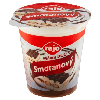 Rajo Mňam Duo Creamy Yogurt with Ingredients and Flavoured Tiramisu 145 g