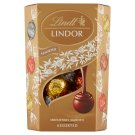 Lindt Lindor Mixture of Milk, Milk with Hazelnuts, White and Dark Chocolate 200 g