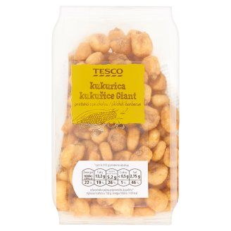 Tesco Corn Giant Roasted with Barbecue Flavour 150 g