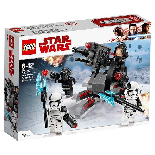 LEGO STAR WARS Bojový balíček špeciálnych jednotiek Prvého rádu 75197