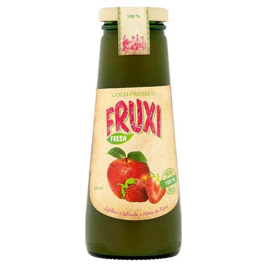 Fruxi Fresh Jablko a jahoda 250 ml