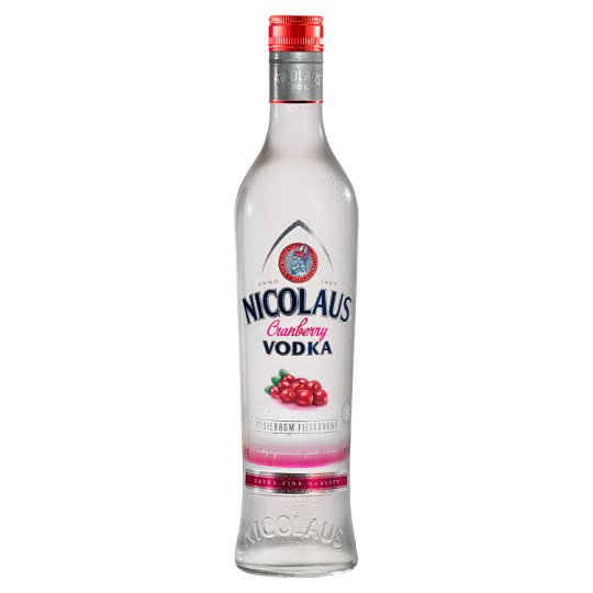 Nicolaus Cranberry Vodka 38% 700 ml