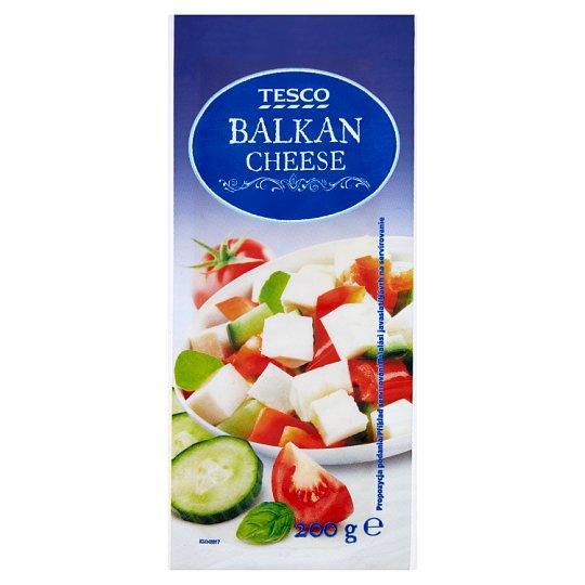 Tesco Balkan Cheese mäkký nezrejúci plnotučný syr 200 g