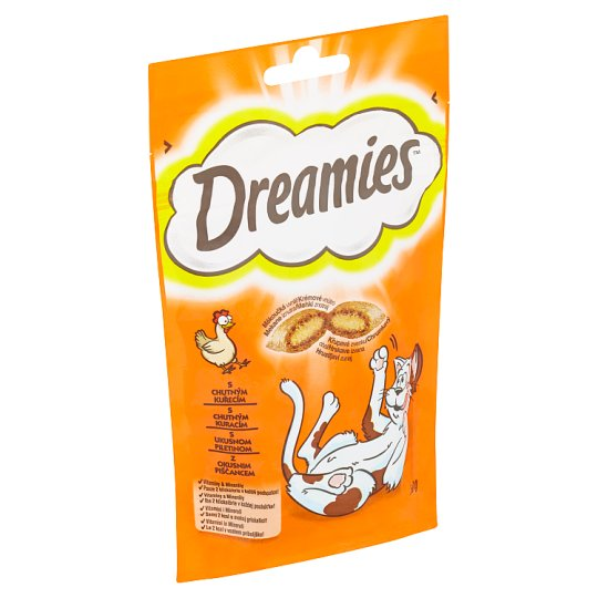 Dreamies with Tasty Chicken 60 g