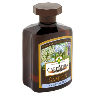 Carpathia Herbarium Šampón na mastné vlasy 300 ml