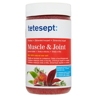 Tetesept Muscle & Joint 100 % Sea Salt 900 g