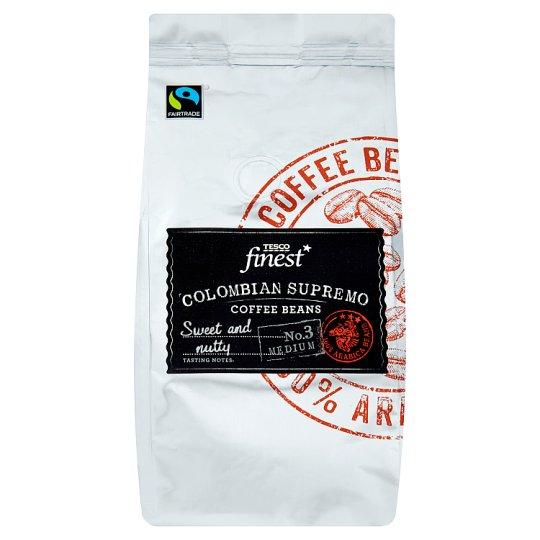 Tesco Finest Pražená zrnková káva Arabica 227 g