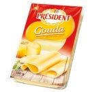 Président Gouda plátkový plnotučný polotvrdý zrejúci syr 100 g