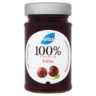 Relax Black Cherry Fruit Spread 220 g