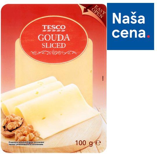 Tesco Gouda Sliced 100 g