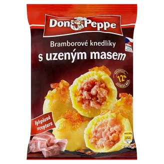 Don Peppe Potato Dumplings with Smoked Meat Deep-Frozen 680 g