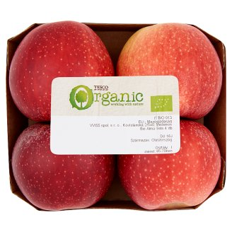 Tesco Organic Bio Apples Gala 4 pcs