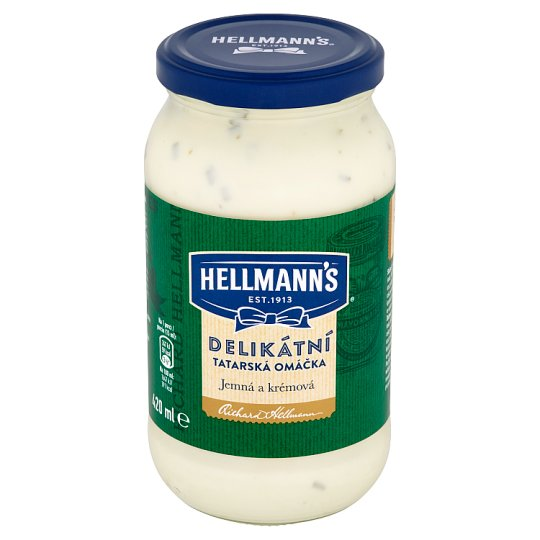 Hellmann's Delicate Tartar Sauce 420 ml
