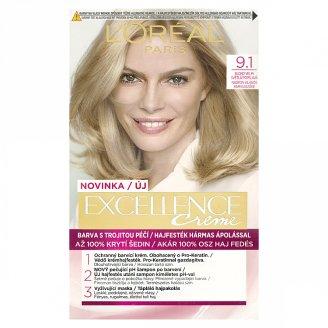 L'Oréal Paris Excellence Creme Blond veľmi svetlá popolavá 9.1