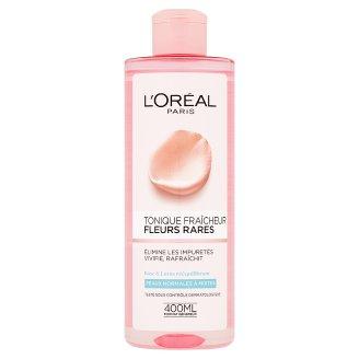 L'Oréal Paris Pleťová voda s výťažkami vzácnych kvetov pre normálnu až zmiešanú pleť 400 ml