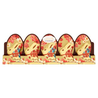 Lindt Mini Bunny Flower Edition Hollow Figures from Milk Chocolate 5 x 10 g